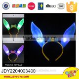 Hot products to sell online rabbit ears bobby pin with flash light latest hairband designs