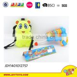 Super cut big water gun with panda backpack summer toys for sale