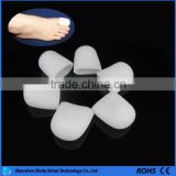1Pair White Silicone Gel Protective Big Toe Cap Soft Cushion Toes Protector Prevent Blisters Corns Calluse