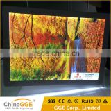Real Estate Agents LED Window Display Slim Hanging Crystal Acrylic Advertising Sign Light Box