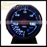 Factory Price Universal 60MM Racing Car LCD Auto Gauge Boost