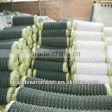 chain link fence machine diamond mesh machine/vinyl coated chain link/chain link fence for sale