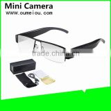 clear plain glasses cheap hidden camera recording camera with full hd for meeting recording
