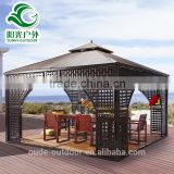 Outdoor Rattan Garden Gazebo Tent For Sale                                                                         Quality Choice