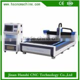 Jinan Hanshi hot sale mini iron engraving price portable fiber metal tube laser cutting machine