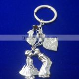 Kissing lovers gift keyring and romantic design keychain for Anniversary wedding