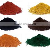 Iron Oxide Pigments (Red,Yellow,Black,Brown,Orange,Blue,Green)