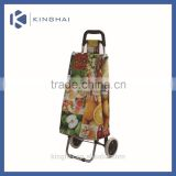 small folding shopping cart/vegetable shopping trolley bag/portable folding shopping cart