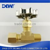 Top quality brass male thread high pressure safety valve
