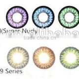 2014 hotsale New arrival authentic GEO XCH series 624 brown color cosmetic contact lens made in korea by GEO Medical