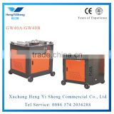China cheap price rebar bending machine, electric steel bar bender, hydraulic rebar bender