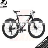 700C aluminum alloy frame white painting disc brakes road city men's bike bicycle cycle cycling