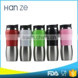 Hot sale BPA free Peanut-shaped square water plastic salt shaker bottle with lids