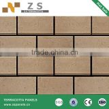 bricks architectural facade terracotta wall siding dry hanging system exterior wall terracotta tiles ceramic panel