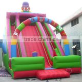 Clown giant inflatable slide for sale