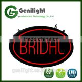 BRIDAL Advertising Animated LED Sign Changeable LED Neon Sign with Letter Design