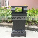 240 liter waste bin above can put an ash cylinder household cleaning dustbin