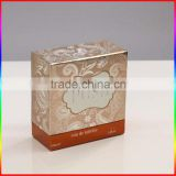 toilet soap High quality lid and base purple colour hardcover cheap hotsale small gift box
