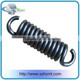 Custom stainless steel small extension spring with hook from China factory/supplier/manufacturer