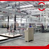 Furniture board melamine laminate production line,melamine lamination for flooring,hot press machine