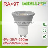 high quality diecast aluminum led spot light,SMD GU10 lamp,led bulb light