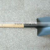 Big Black Round Head Garden Shovel & Spade S518-4T