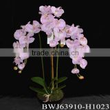 latex real touch cheap wholesale artificial flowers butterfly orchid on sale