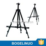 in stock 52-153cm folding metal black tripod easel Artist Painting and Sketch Easel Display Stand