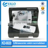 KD-8020 skin scrubber ultrasonic peeling skin spatula for salon use