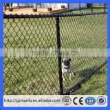 cheap plastic PVC coated black chain link fence/used chain link fence for sale (Guangzhou)