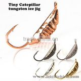 Wholesale coloful tungsten ice fishing jigs