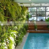 Lifelike Beautiful Artificial Plant Wall For indoor Landscape