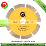 Professional Manufacturer Power Tools For Cutting Granite Marble 114mm Diamond Blade for Stone Cutting