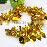 Christmas tree garland decoration color tops birthday party wedding room decoration wholesale
