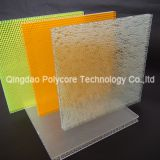 fire-retardant  light transmission honeycomb sandwich panel