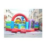 Hire Baseball bear PVC Inflatable Obstacle Course For Backyard / Park