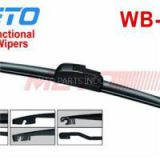 Top Rated Rubber Rear Beam Screen Windshield Wipers Blades With Multi Adapter