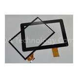5 Point 10 Inch Capacitive Touch Screen , Glass + Glass Industrial Monitors Touchscreens