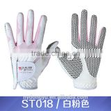 pink white golf gloves/unisex golf gloves/ fashion man and women golf gloves sports training gloves