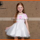 professional Factory directly produce wholesale birthday dress 1 year old girl 2016 new Hot flower girl net dresses