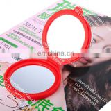 Candy color pocket silicone mirror for make up