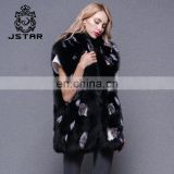 New Desig Fur Vest Women's Waistcoat for Winter and Autumn