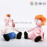 New customized plush a couples doll
