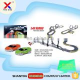 Hot sale 1:43 scale radio control race track with rc car
