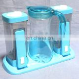 PS plastic oil,vinegar salt and pepper set