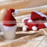 New Ideas Novelty Festival Velvet Santa Claus Funny Mini Egg Christmas Hat Idea Design mini hat egg hat