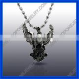 2014 Stainless Steel animal series of eagle skull pendant China Supplier