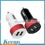 Logo Printing Travelling Universal Dual USB Ports Car Charger
