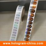 Anti-Fake Security Roll Hologram Stickers