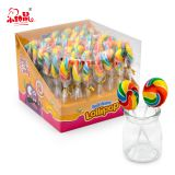 Good Quality Round Colorful Lollipop Pop Candy